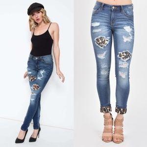 Denim - FIONNA PURRFECT Skinny Jeans
